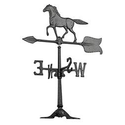 Whitehall Products 00070 24 inch Horse Accent Weathervane -