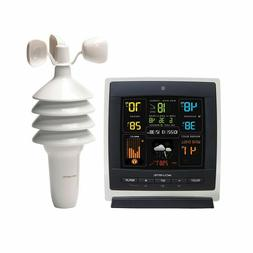 AcuRite 00622 Pro Color Weather Station with Wind Speed, Tem