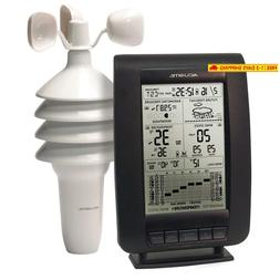 Acurite 00634A3 Wireless Weather Station With Wind Sensor Bl