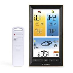 AcuRite 01201M Vertical Wireless Color Weather Station with