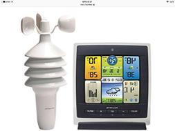 AcuRite 01301 Pro 3-in-1 Color Weather Station with Wind Spe