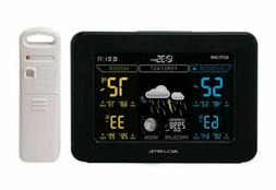 AcuRite 02027A1 Color Weather Station with High Low Temperat