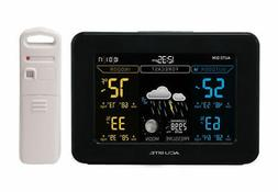 AcuRite 02027A1 Wireless Color Weather Station Indoor/ Outdo