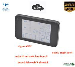 1080P Hidden Night Vision Spy Nanny Wireless WIFI Camera Wea