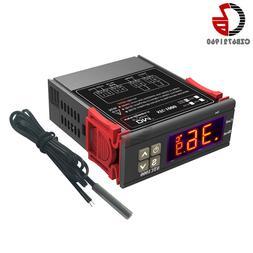 110V 220V 12V 24V AC STC-1000 LED Digital Thermostat Tempera