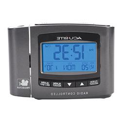 AcuRite 13239 Atomic Projection Clock with Indoor Temperatur
