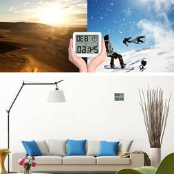 1pc Thermometer Indoor Wireless with Clock for Warehouse Bab