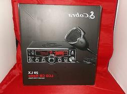 Cobra 29LX Professional CB Radio - NOAA Weather Channels and