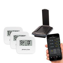 AcuRite 01166M 3-Sensor Indoor Temperature and Humidity Remo