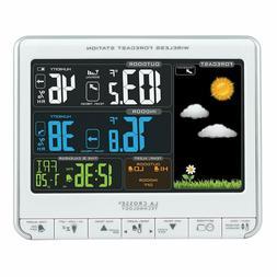 La Crosse Technology 308-1412S Color LCD Wireless Weather St