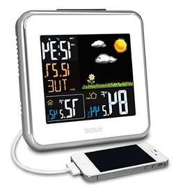 308-146W La Crosse Technology Wireless Atomic Color Weather
