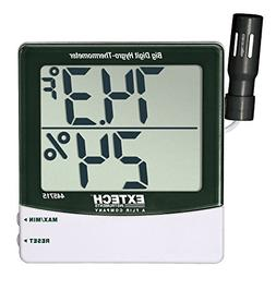 Extech 445715 Big Digit Remote Probe Hygro-Thermometer