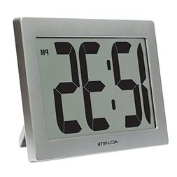 "AcuRite 75102 9.5"" Large Digital Clock with 3.75"" Digits and"