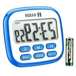 Habor Digital Kitchen Timer, Cooking Timer, Large Display, S