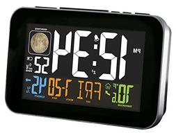 La Crosse Technology White Atomic Alarm Clock