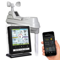 ACU-RITE PROFESSIONAL COLOR WEATHER CENTER WITH EASY MOUNT 5