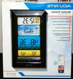 Acu Rite Weather Station Color Display, Atomic Clock, Wirele