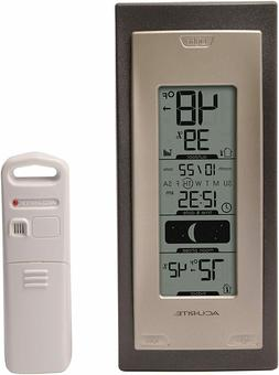 Inside Outside Wireless Thermometer LCD Home Digital Weather