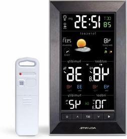 AcuRite 01121M Vertical Wireless Color Weather Station  with