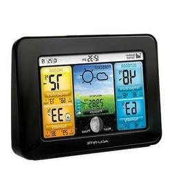 AcuRite Color LCD Home Weather Station - Premium Wireless Th