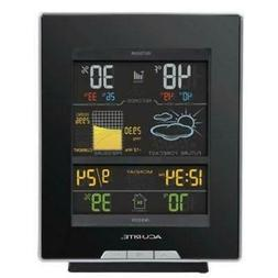 Acurite Color Weather Station - 330 Ft - Desktop, Wall Mount