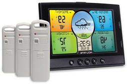 AcuRite Temperature and Humidity Station with 3 Sensors