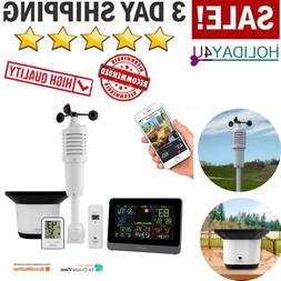 Ambient Weather C83100 Smart Weather Station with WiFi Remot