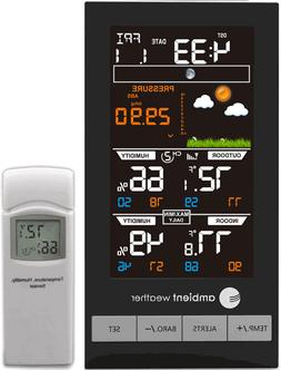 Ambient Weather WS-2801 Advanced Wireless Color Forecast Sta