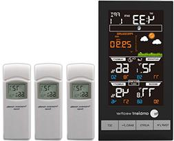 Ambient Weather WS-2801-X3 Advanced Wireless Color Forecast