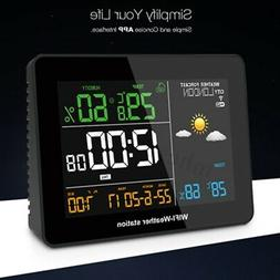 DIGOO APP Remote Weather Station Wifi 3Day Thermometer Hygro