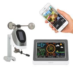 C79790 La Crosse Technology WiFi AccuWeather Color Weather S