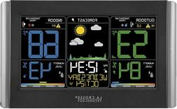 La Crosse Technology C85845-1 Color Wireless Forecast Statio