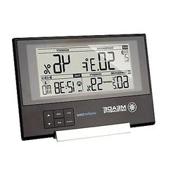 Clock Weather Station, Slim Digital Home Indoor Desk Weather