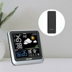 BALDR Color Digital Weather Station Wireless Indoor/Outdoor