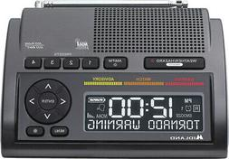Midland Consumer Radio Weather Radio All Hazard Radio Gray