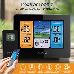 DIGOO DG-EX001 WIFI APP Smart Color Screen Weather Station H