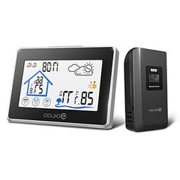 DIGOO DG-TH8380 Indoor Outdoor Thermometer Digital Hygromete