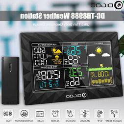DIGOO DG-TH8988 Colorful Weather Station Hygrometer Humidity