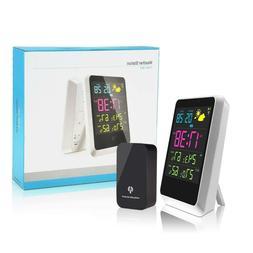 Digital Alarm Clock, Weather Station Wireless Indoor/Outdoor