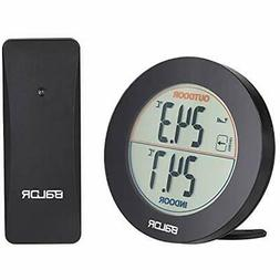 Digital Indoor Outdoor Thermometer, Wireless Temperature For