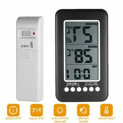 Digital Indoor Outdoor Weather Station Clock Calendar Wirele