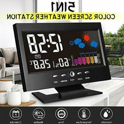 Digital LCD Display Thermometer Weather Station Hygrometer A