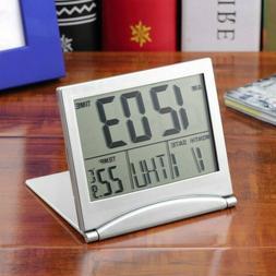 Digital LCD Weather Station Folding Date Desktop Temperature