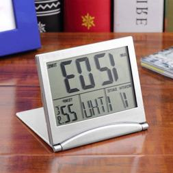 Digital LCD Weather Station Folding Date Desktop Temperature