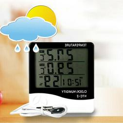 Digital LCD Wireless Indoor Outdoor Thermo-Hygrometer Thermo