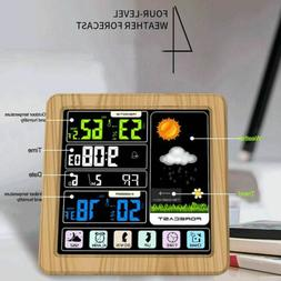 Digital Touch LCD Screen Weather Station Hygrometer Thermome