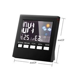 Digital Weather Station with Alarm Clock for Kids