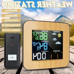 Digital Wireless Indoor/Outdoor Weather Station Calendar Hum
