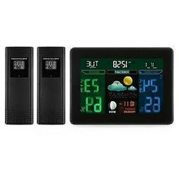 Digital Wireless Weather Station,Indoor/Outdoor Hygrometer T