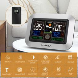Digital Wireless Weather Station Weather Forecast Clock with